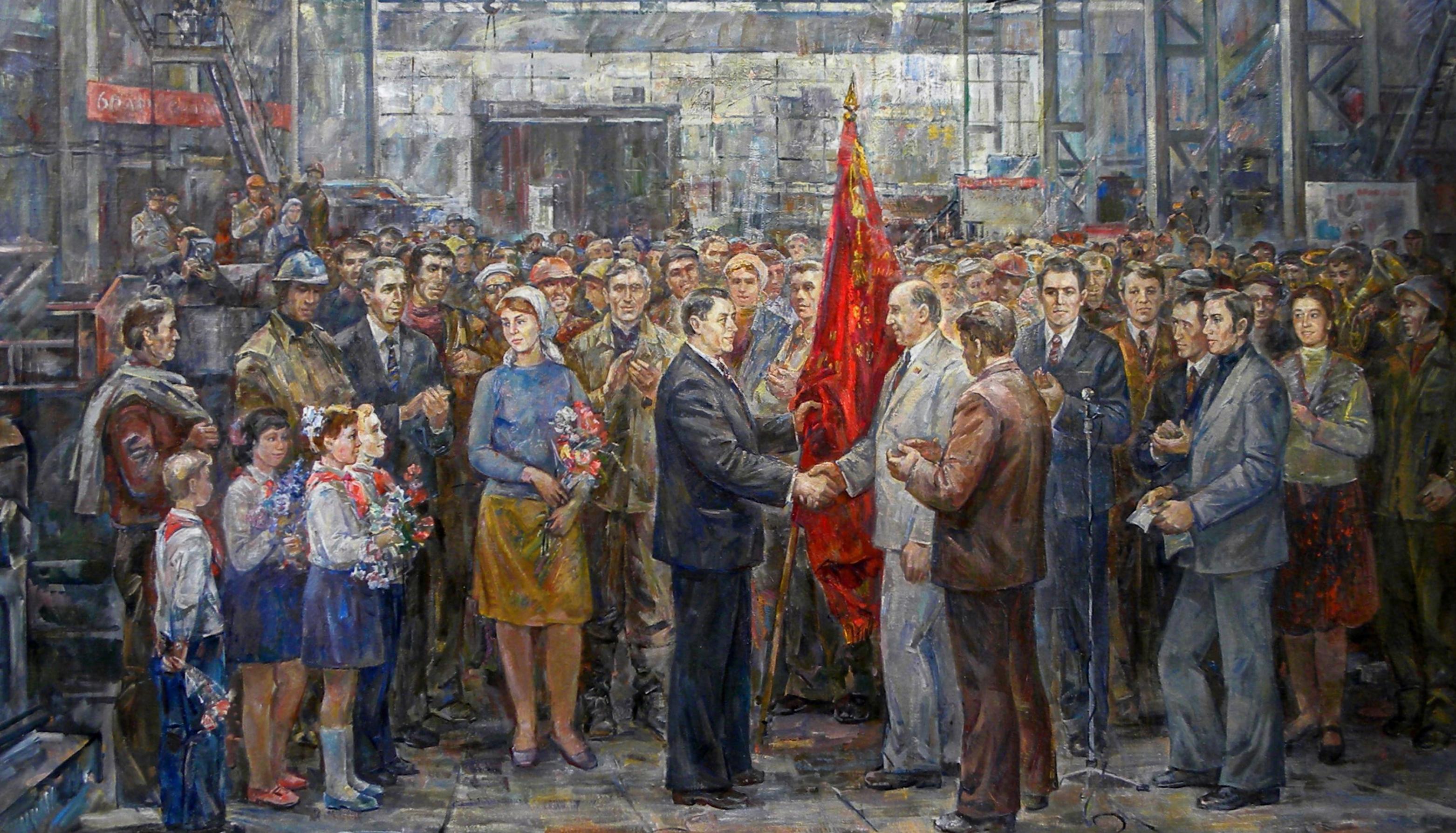 Mostra di pittura russa e sovietica